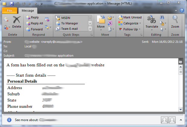 Outlook Goodness - See HTML Email Body Content Easily.