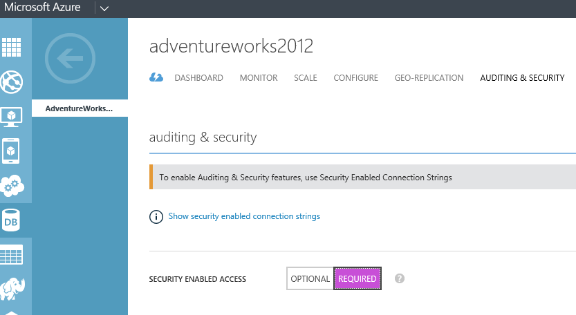 Secure Connection Strings