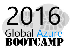 Global Azure Bootcamp 2016