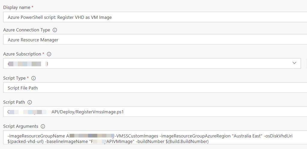 New build VM Image