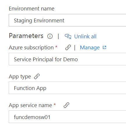 Multi-environment deployments for Compiled C# Azure