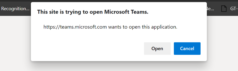 Microsoft Teams - Signup step 8 - Download Teams client
